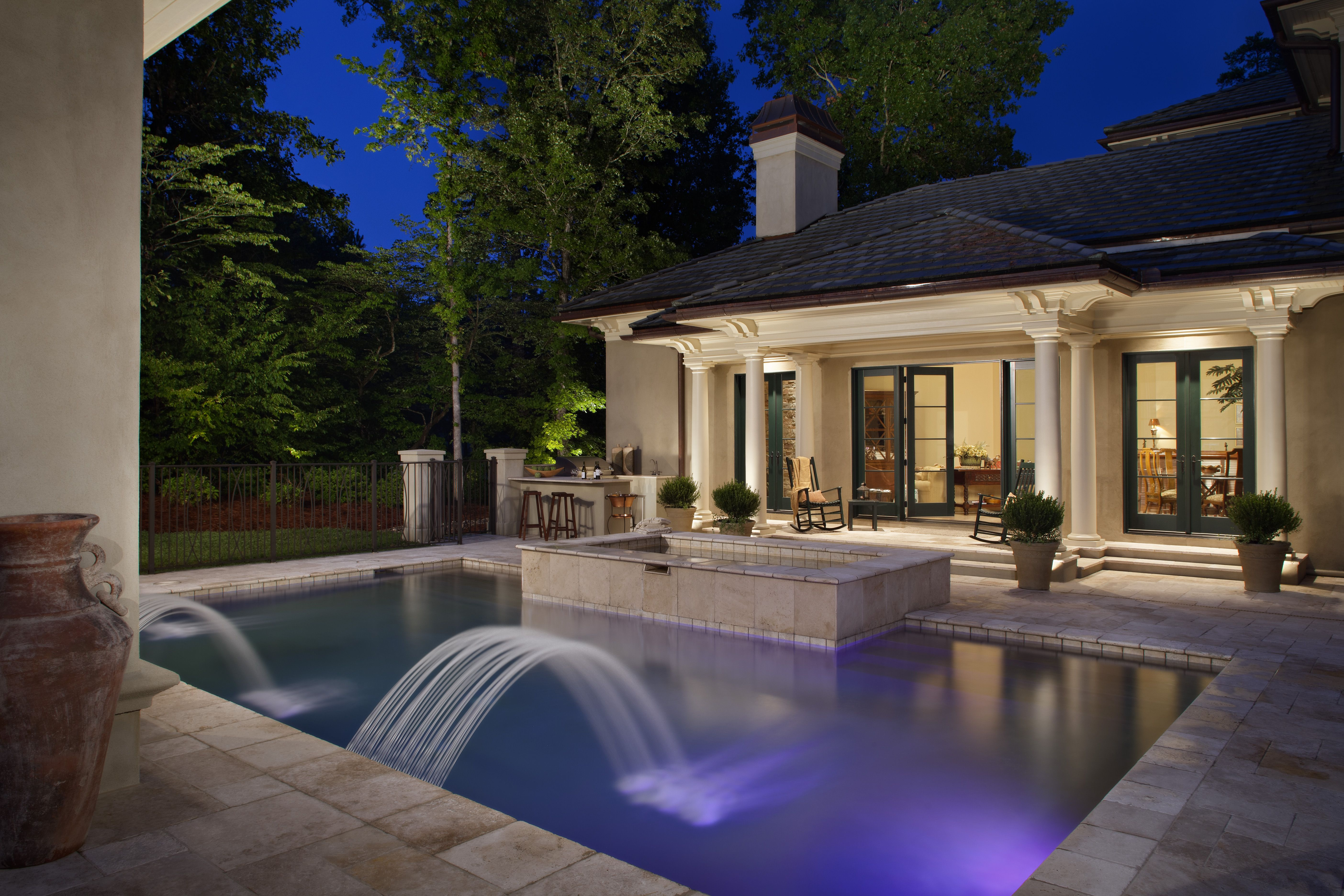 outdoor pool lighting. Lights Outdoor Pool Lighting