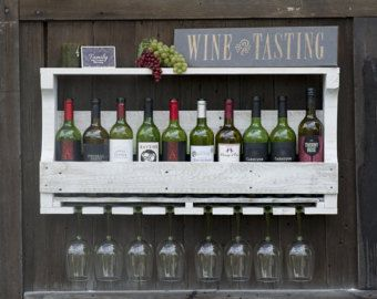 15 Off Inverted Wine Rack Wall Wood