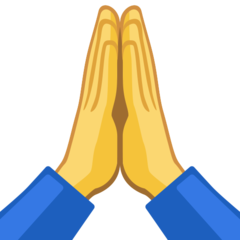 Folded Hands On Facebook 2 2 Hand Emoji Praying Hands Emoji Folded Hands
