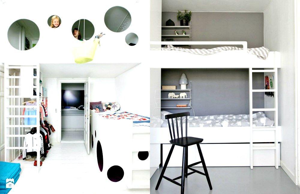 Łóżka piętrowe w dziecięcym pokoju. - zdjęcie od cleo-inspire - Pokój dziecka - Styl Nowoczesny - cleo-inspire