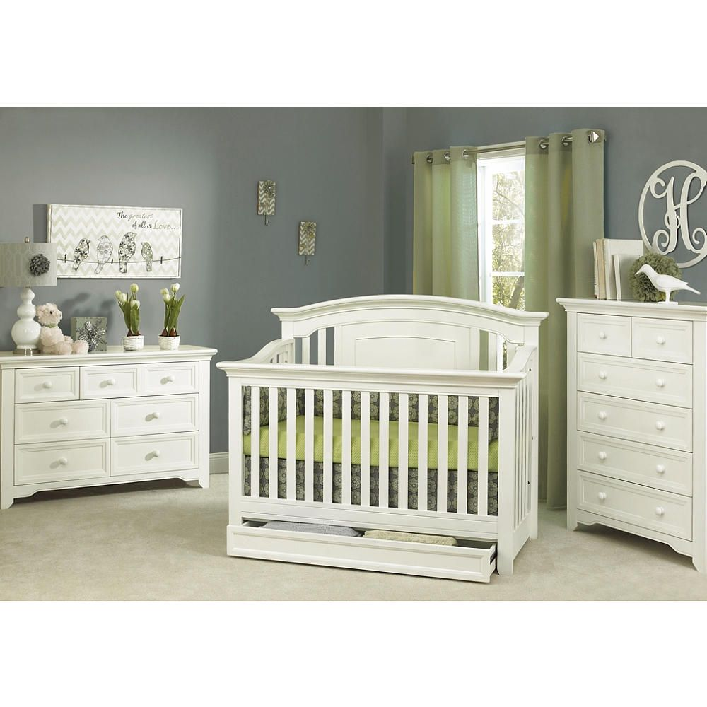 Baby Cache Harbor Lifetime Crib White