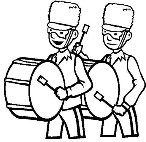 Mardi Gras Party With Marching Band Coloring Page Mardi Gras Party Coloring Pages Mardi Gras