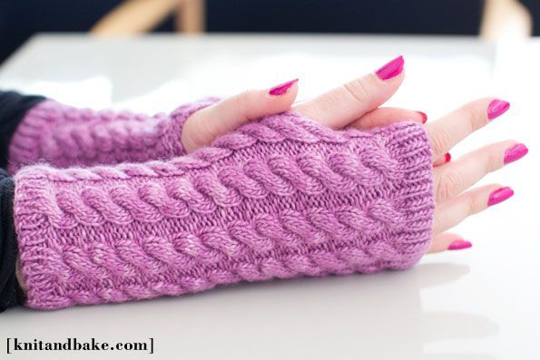 Knitting Pattern Fingerless Mittens Bing Vaizdai Knitted Mittens