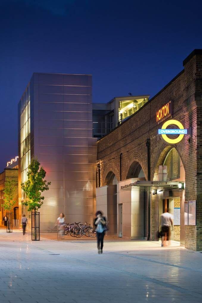 Overground Hoxton Station, London