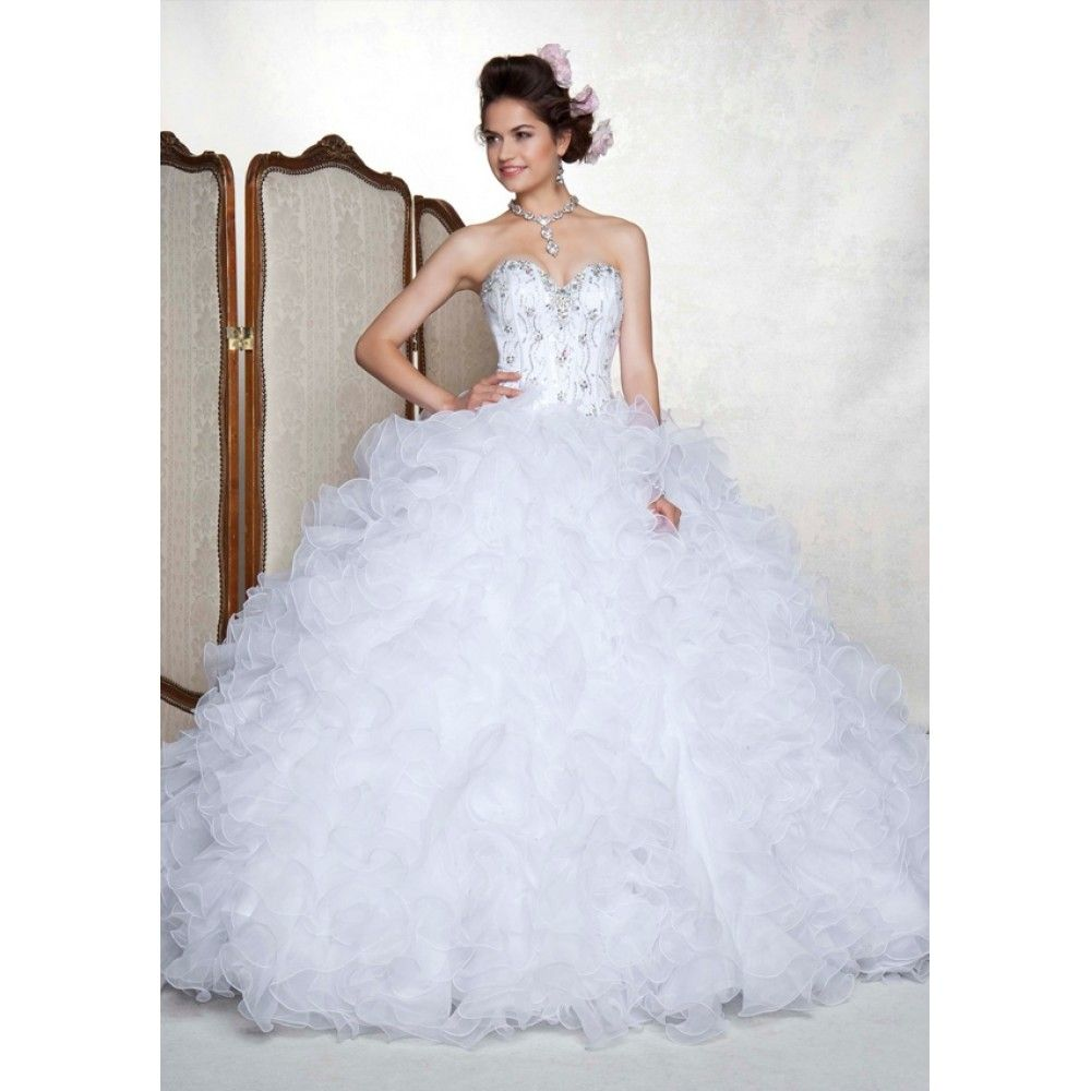 white+quinceanera+dresses | Tips to Know When Buying White ...
