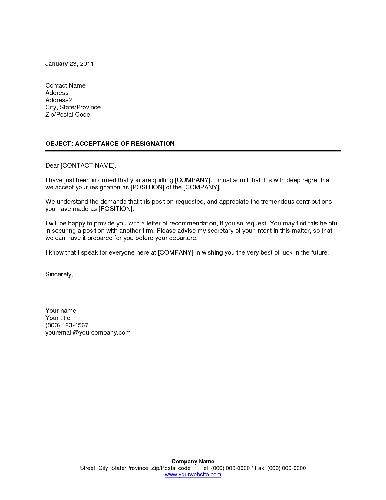 resignation letter employer name star certificate template ...