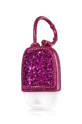 Purple Glitter Pocketbac Holder Bath Body Works A Party