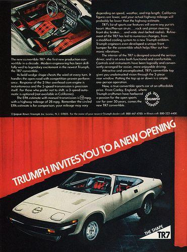 1979 Triumph TR7 Convertible   by aldenjewell