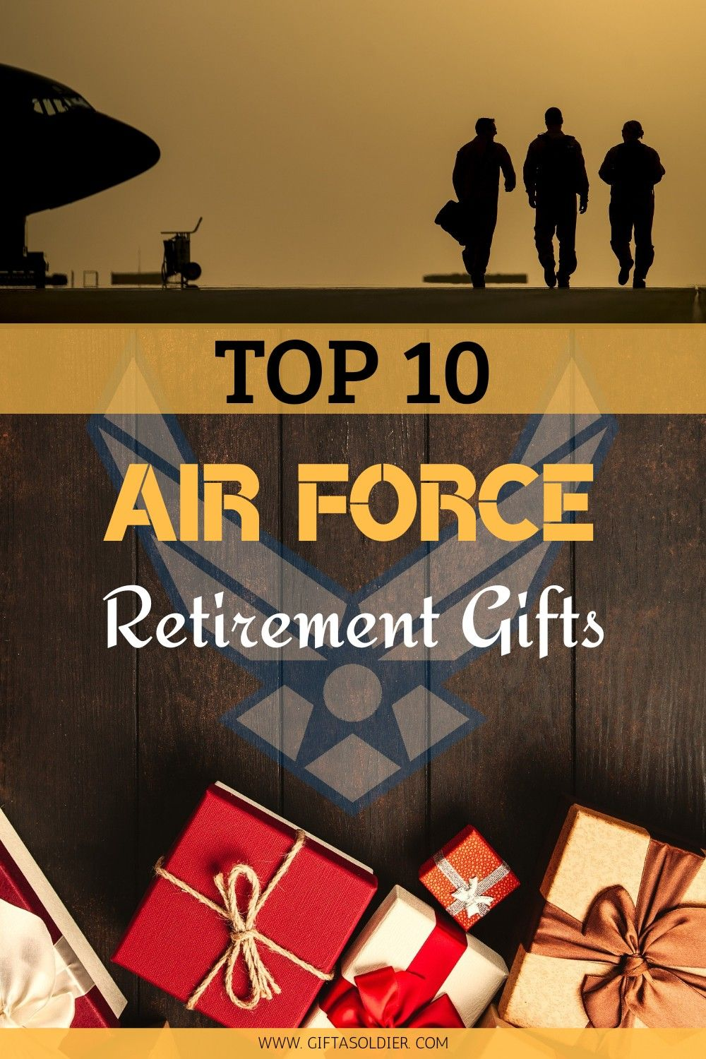 Top 10 Air Force Retirement Gift Ideas To Win The Heart Of