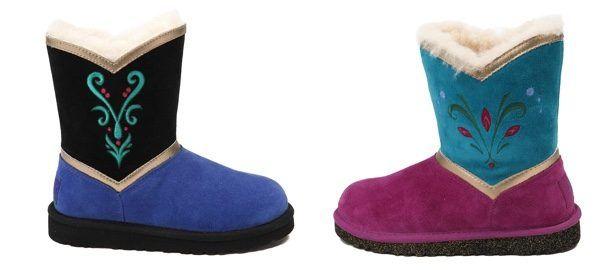 frozen ugg boots.