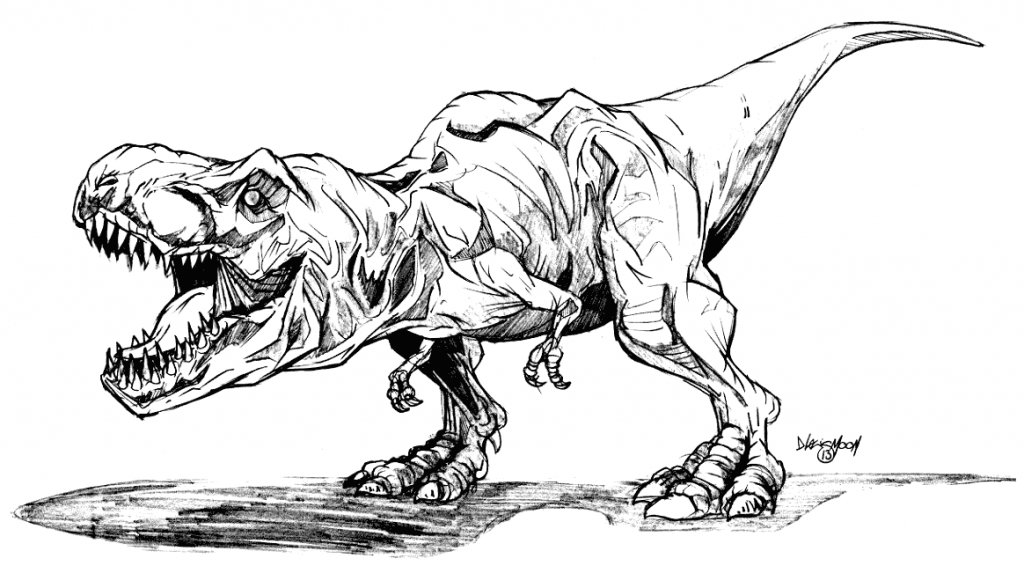 T Rex Coloring Pages Coloring Rocks Jurassic Park Tattoo Jurassic Park T Rex Dinosaur Drawing