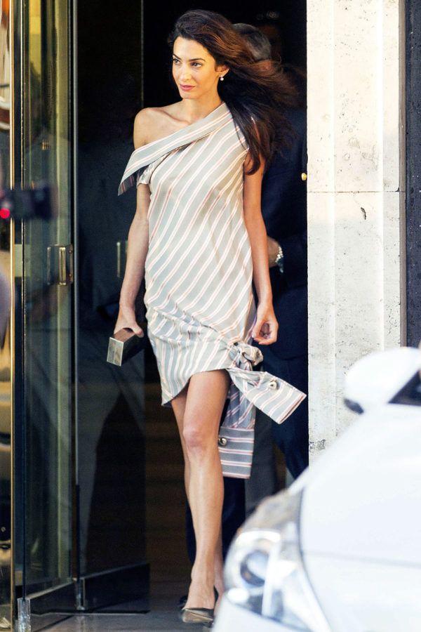 Amal Clooney's Secret To Glamorous Summer Style | Style Icons