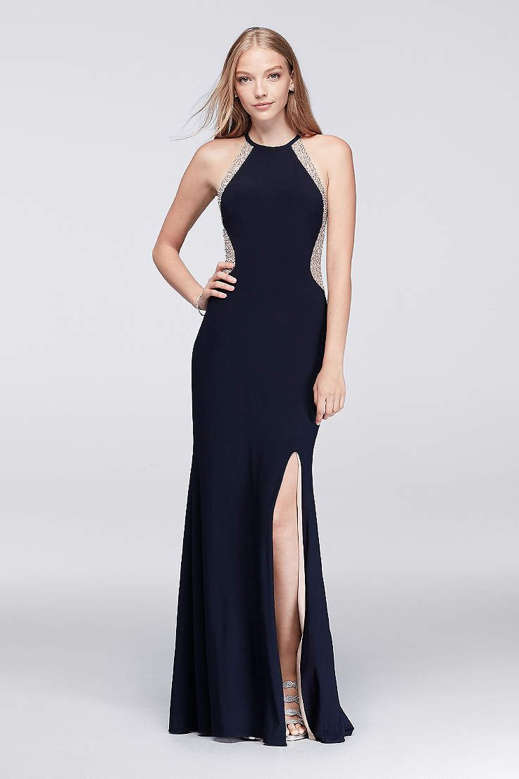 Browse davidus bridal collection of long prom dresses u