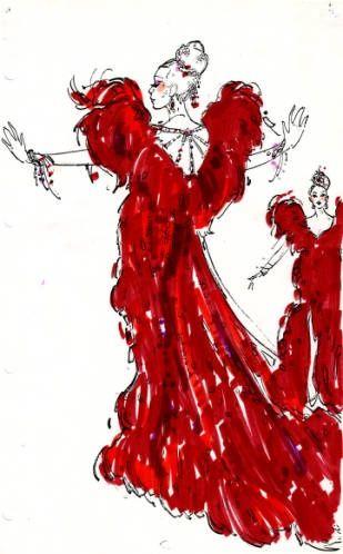 Bob Mackie Designs   Bob Mackie costume design for Jubilee!, 1980. ...   COSTUME DESIGNS ...