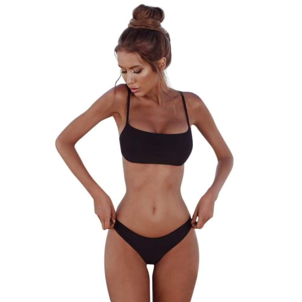 Women Underwear Set Summer Bandage Set Push-up Brazilian High-cut High-waist Sexy Underwear Set D5 Underwear & Sleepwears