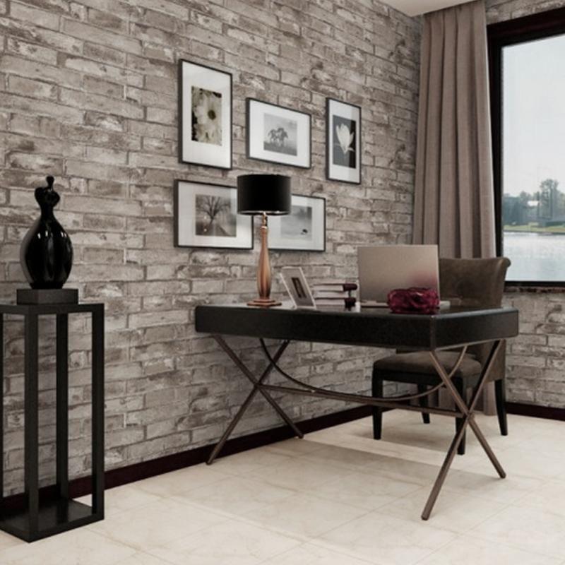 3d Stereo Simulation Brick Tiles Pattern Waterproof Self Adhesive Wallpaper Pvc Bedroom Backgroun Faux Brick Walls Fake Brick Wallpaper Brick Wallpaper Sticker