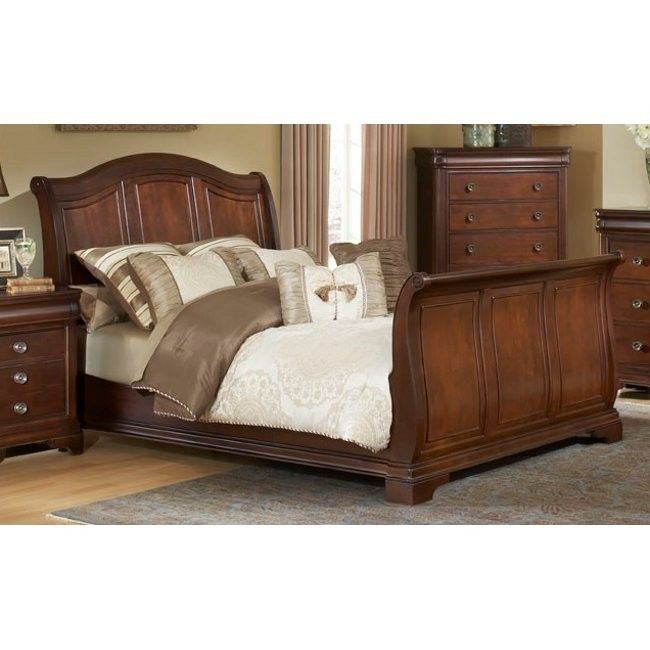 Cameron Queen Sleigh Bed Headboard   Conns.com