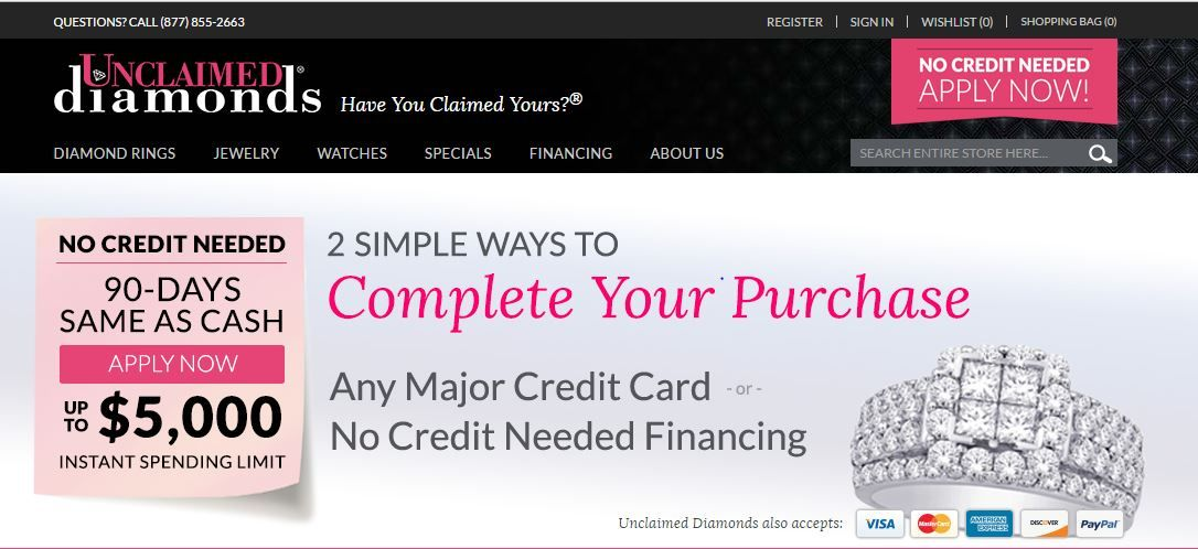 36++ No credit needed jewelry financing information
