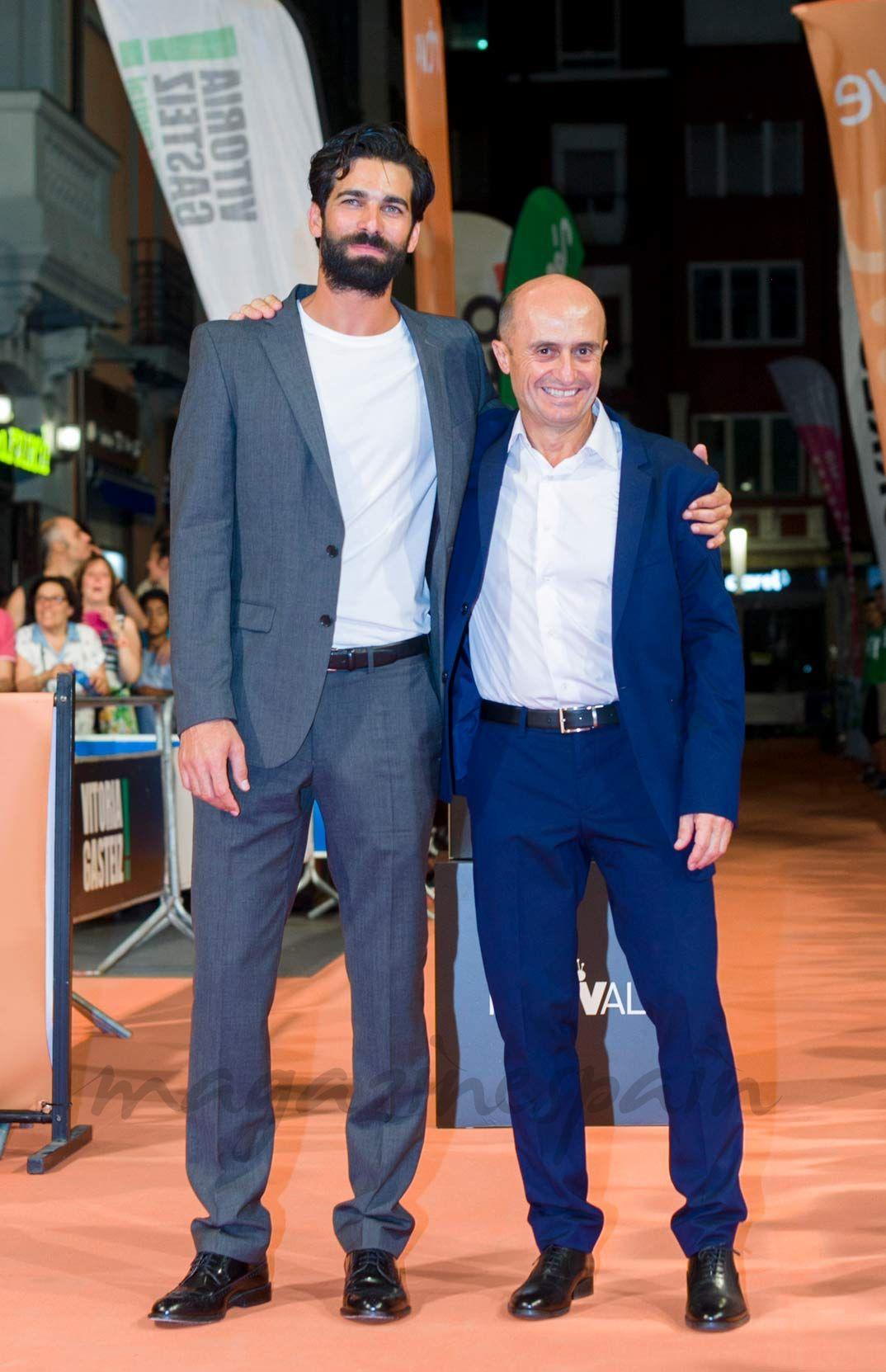 """Rubén Cortada y Pepe Viyuela © FesTVal Vitoria- """"Olmos y Robles"""": Segunda temporada"""