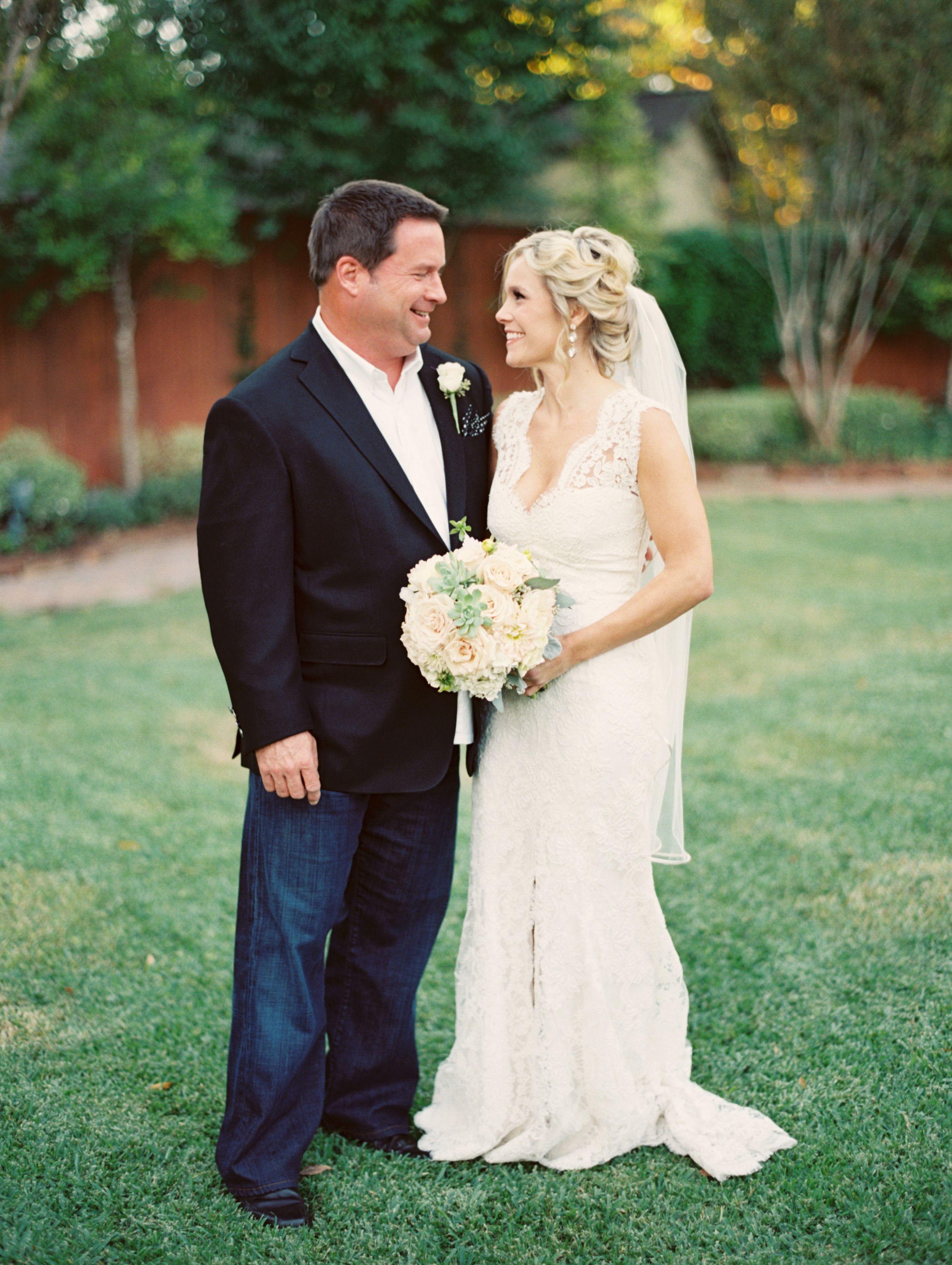 Romantic Houston Backyard Wedding | Wedding day ...
