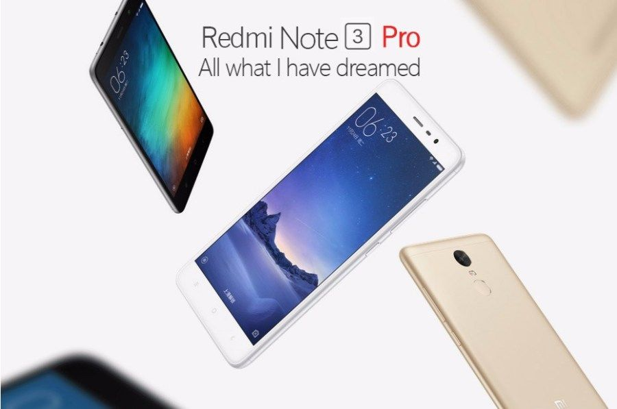 Original Xiaomi Redmi Note 3 Pro Prime Mobile Phone Snapdragon 650 Hexa Core 3GB RAM 32GB