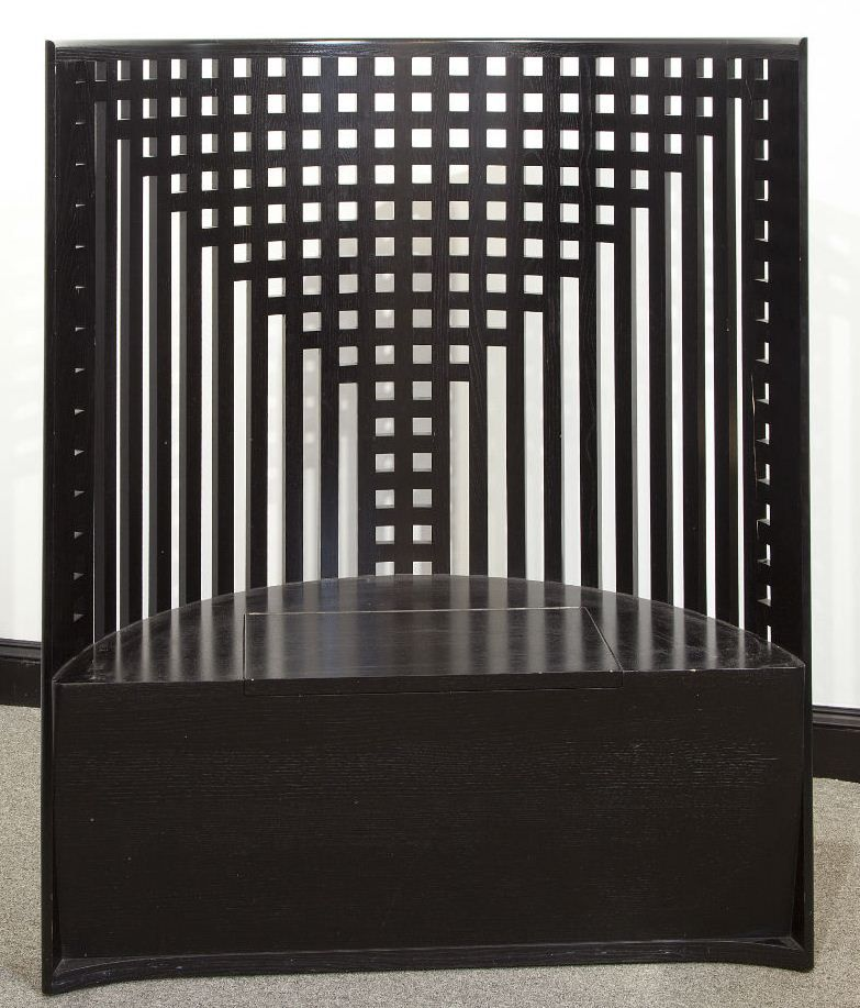 Lattice Back Chair, Design By Charles Rennie Mackintosh In 1904.