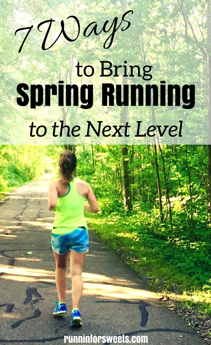 7 Ways to Bring Spring Running to the Next Level Running