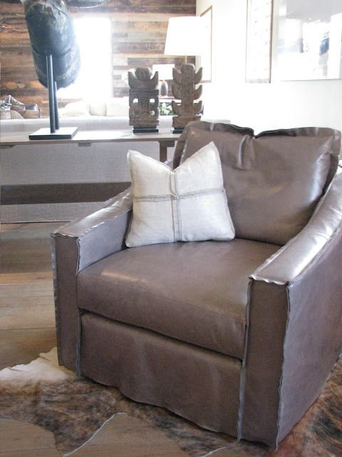 Verellen Leather Wow Seating Old Amp New Slipcovers