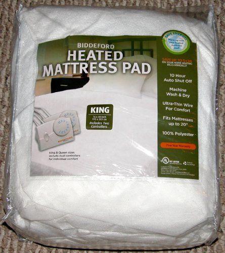 Biddeford Heated Mattress Pad King By Biddeford 7199 Machine