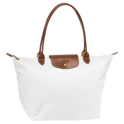 Longchamp Tasche Le Pliage Large Folding Tote Stiel Weiss Longchamp Bag Longchamp Le Pliage Longchamp Handbags