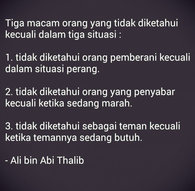 Kutipan Islam Ali Bin Abi Thalib Motivasi Kutipan Terbaik