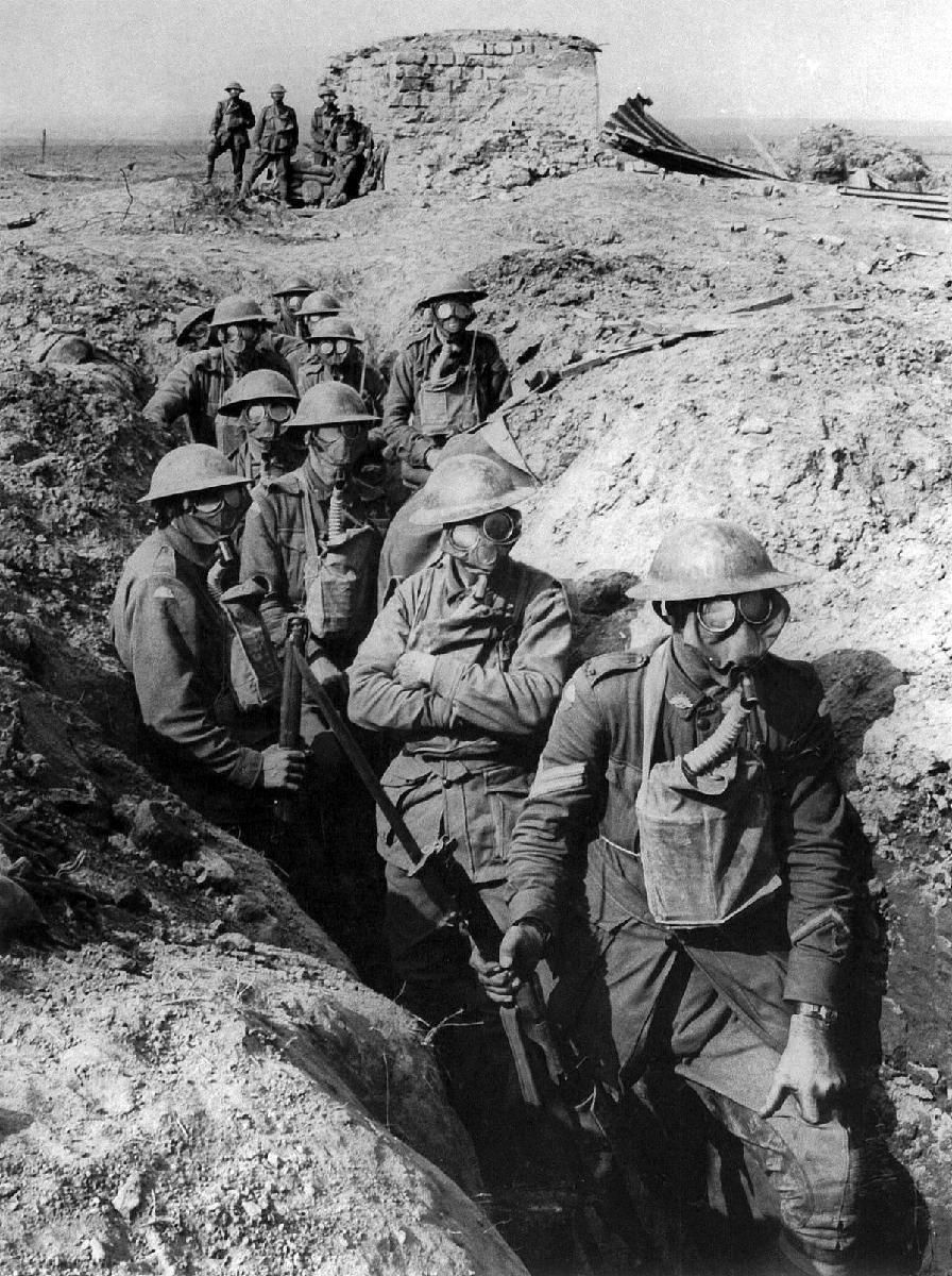 Australian Infantry Small Box Respirators Ypres 1917 The Soldiers Are From The 45th Battalion Australian 4th Division At Garter World War One World War Ypres