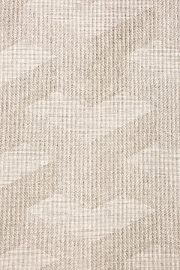 Geo Textured Wallpaper by Anthropologie in Grey, Wall Decor is part of Textured wallpaper, Grey wall decor, Wallpaper warehouse, Wallpaper, Grasscloth, Wall wallpaper - Combining hypnotizing geometric patterns with a grassclothinspired effect, this walllpaper achieves a contemporary chic look for your space