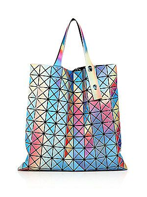 Bao Bao Issey Miyake Prism Aurora Faux Leather Tote Tote Purse 35c056c2a0d26