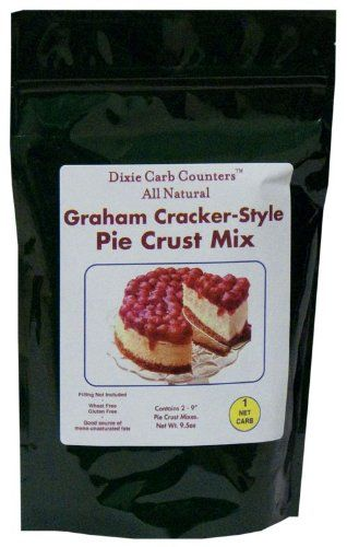"""Holy Moly ! Low carb """"graham cracker"""" crust for my sugar-free, low carb cheesecake !"""