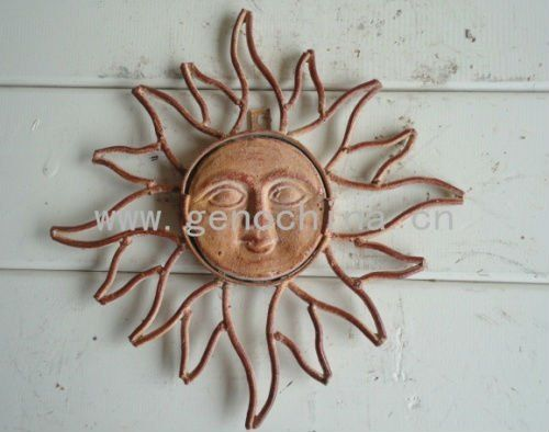 Rising Sun Garden Wall Decor