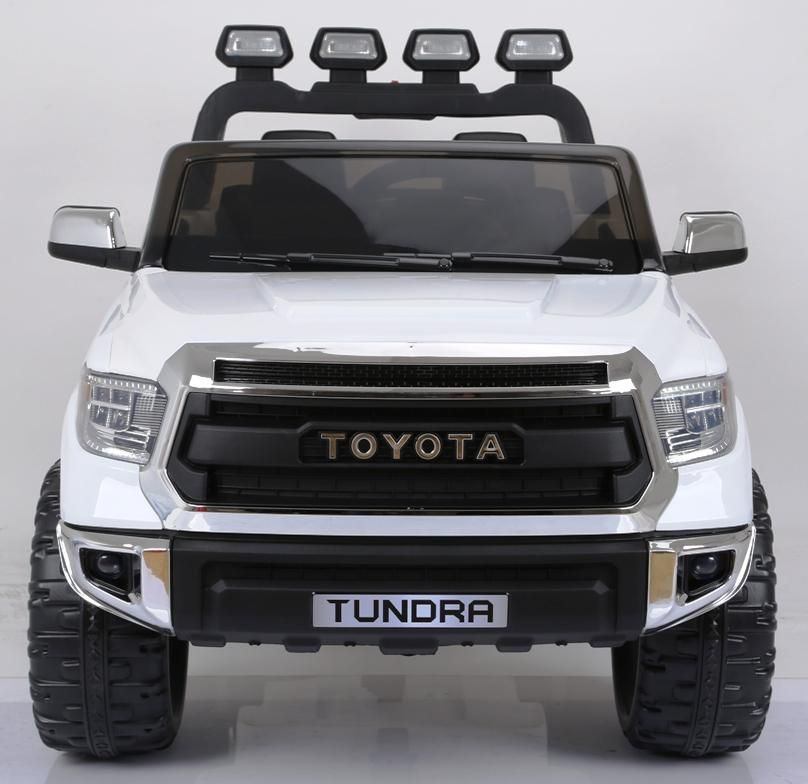 Toyota Tundra Xl 24 Volt Remote Control 2 Seat Ride On Pickup Truck W Leather Seat Toyota Tundra Toyota Tundra Accessories Pickup Trucks