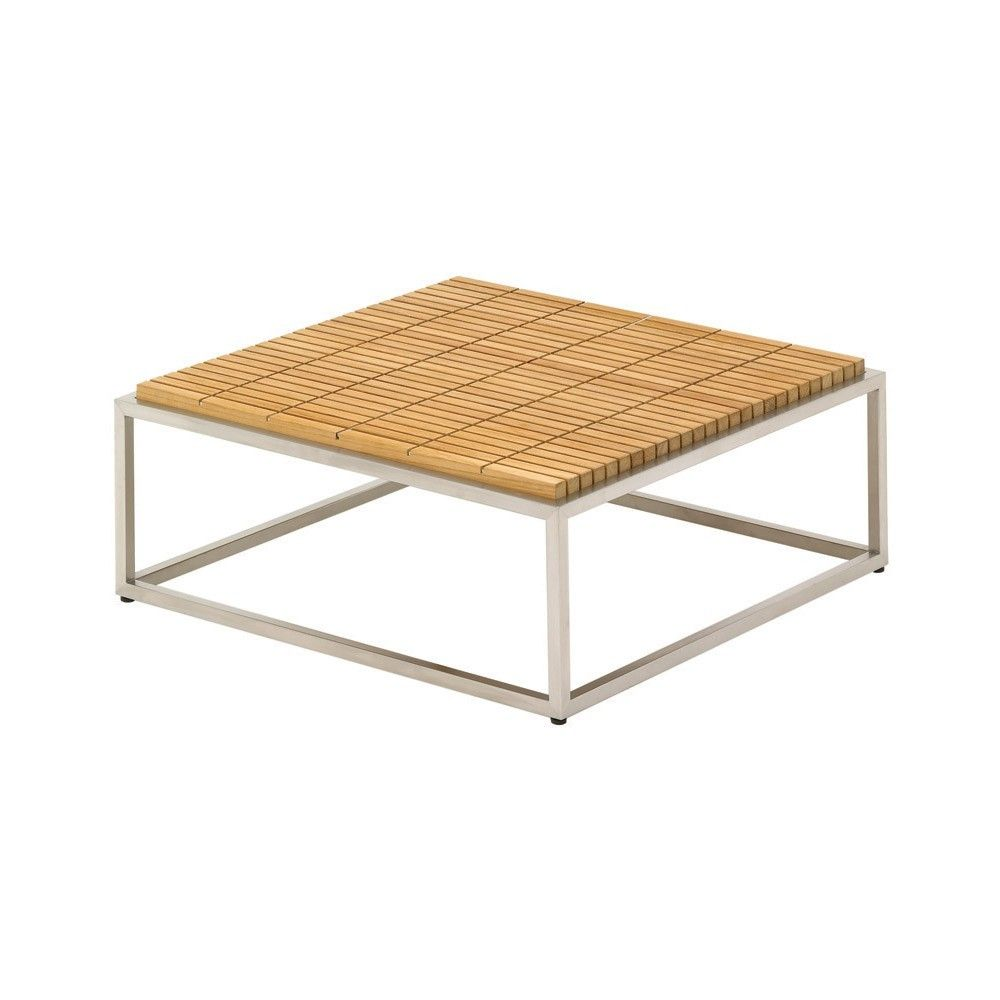 Gloster cloud square teak coffee table 6031 97800 gloster gloster cloud square teak coffee table 6031 97800 geotapseo Choice Image