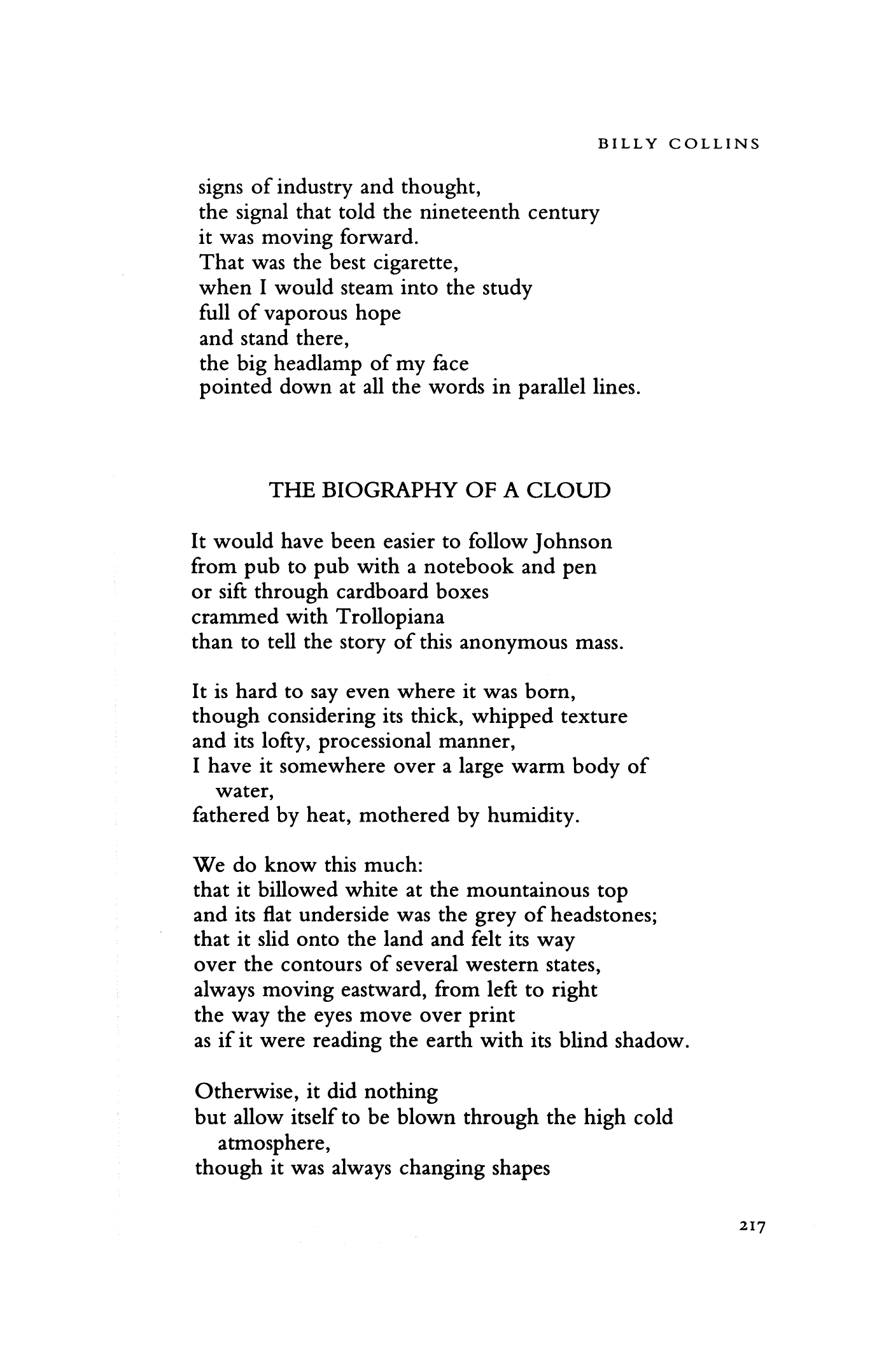 the lanyard poem