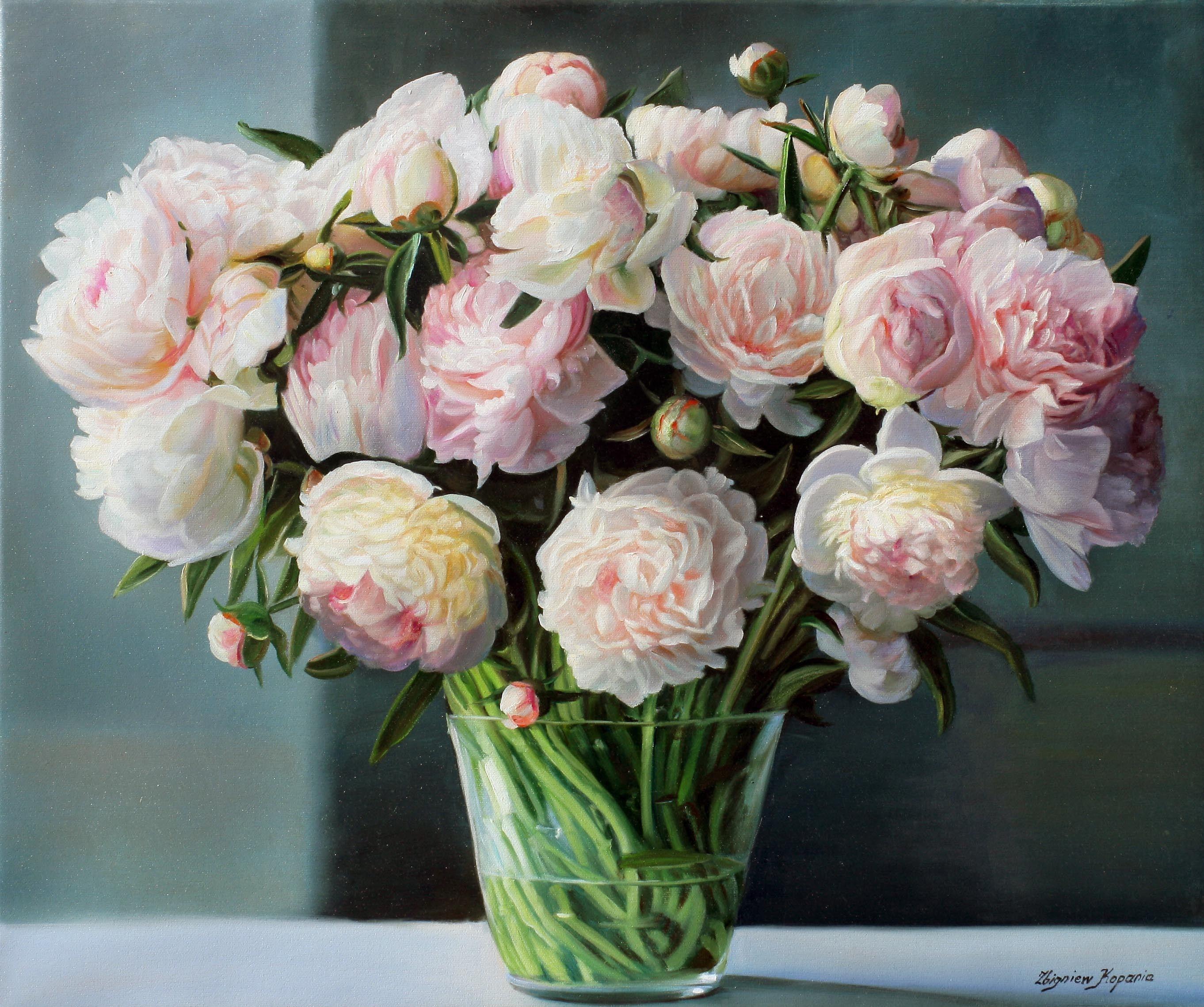 Picture zbigniew kopania still life flower peony rose vase stems picture zbigniew kopania still life flower peony rose reviewsmspy