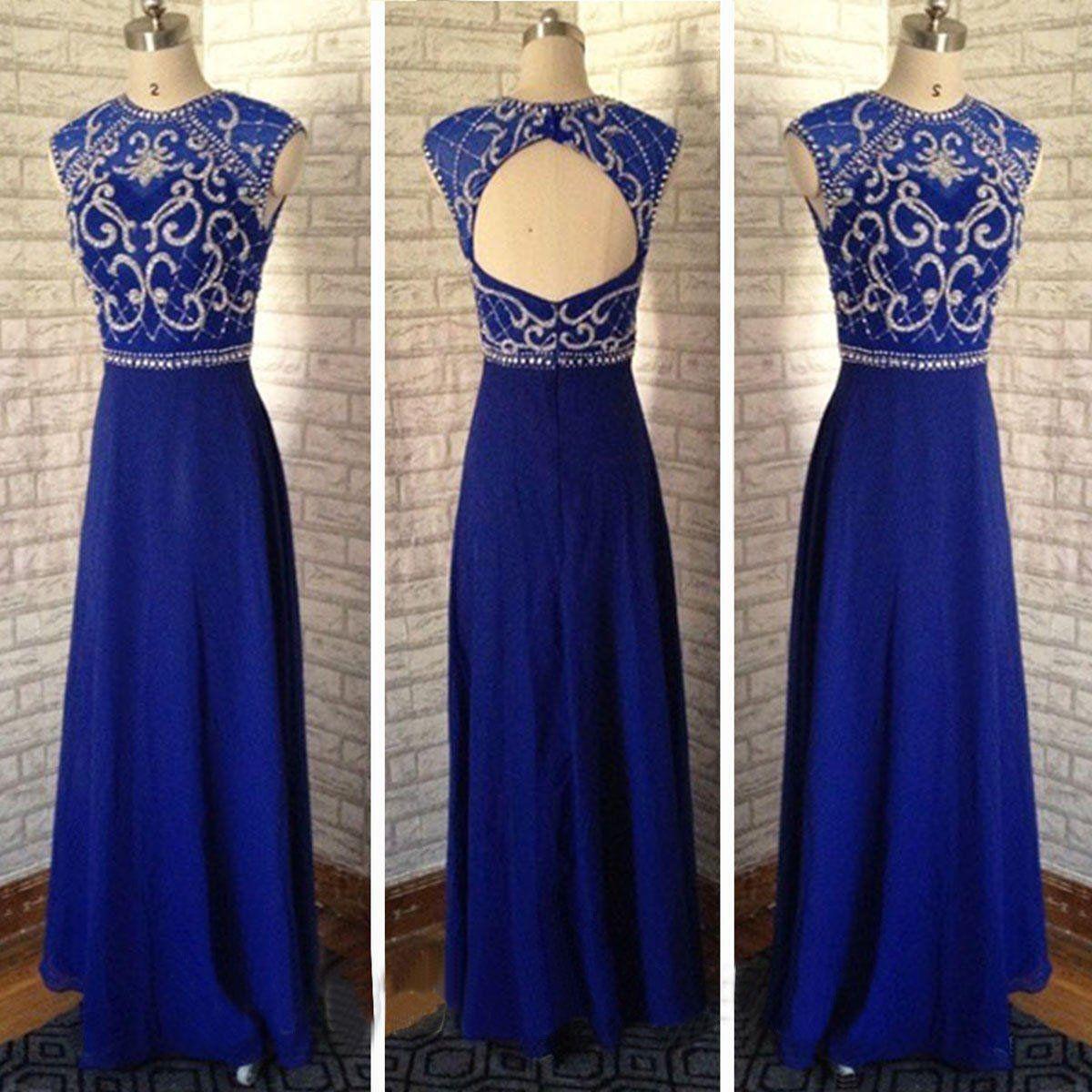 Royal blue prom dresseslong prom dressescheap prom dresses