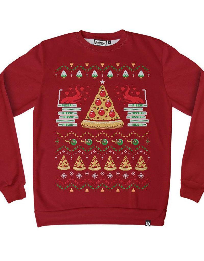 Pizza Holiday Sweatshirt
