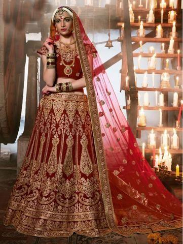 Heavy Indian Wedding Dress