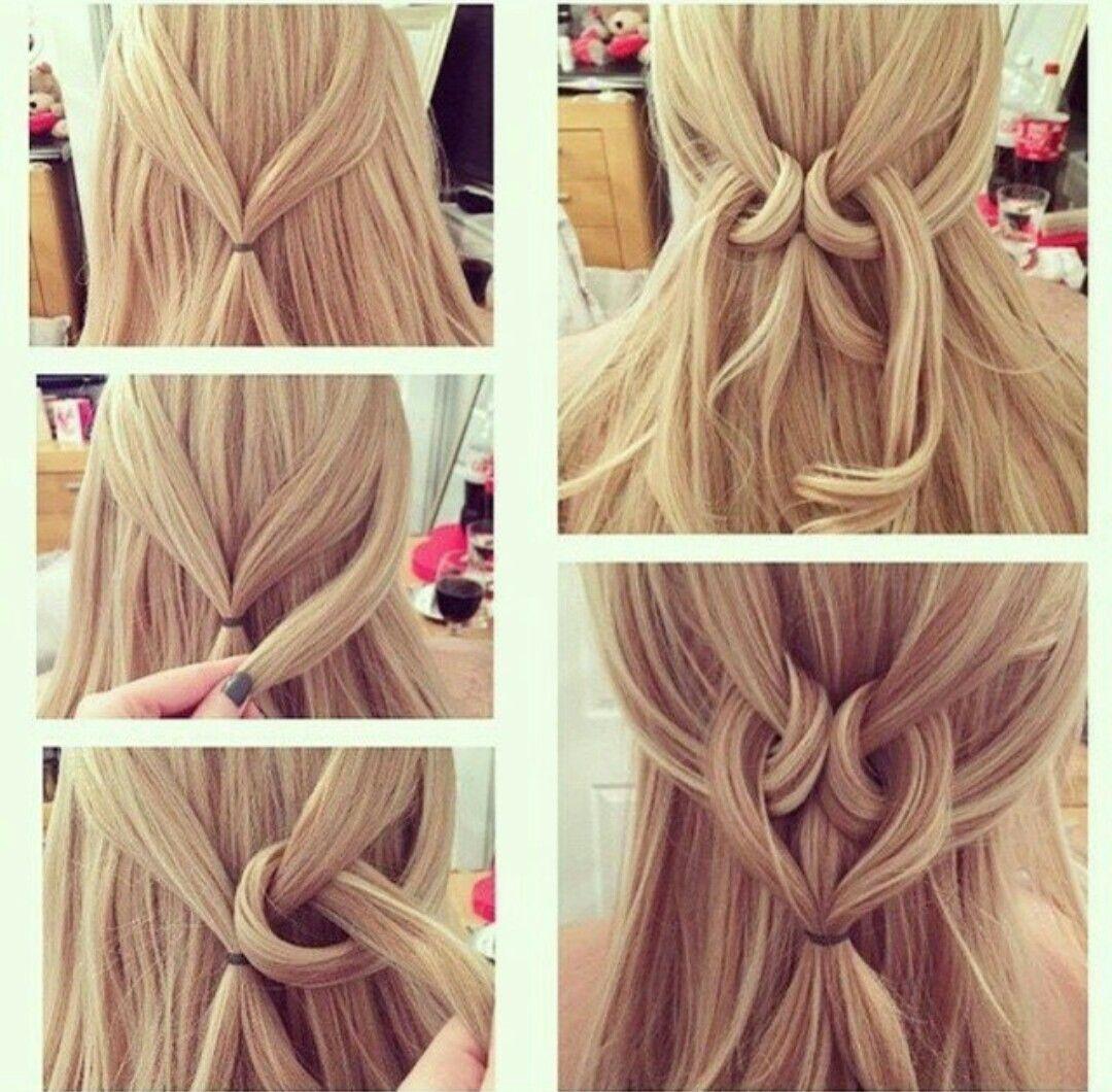 Peinados sencillos para cabello largo y mediano peinados