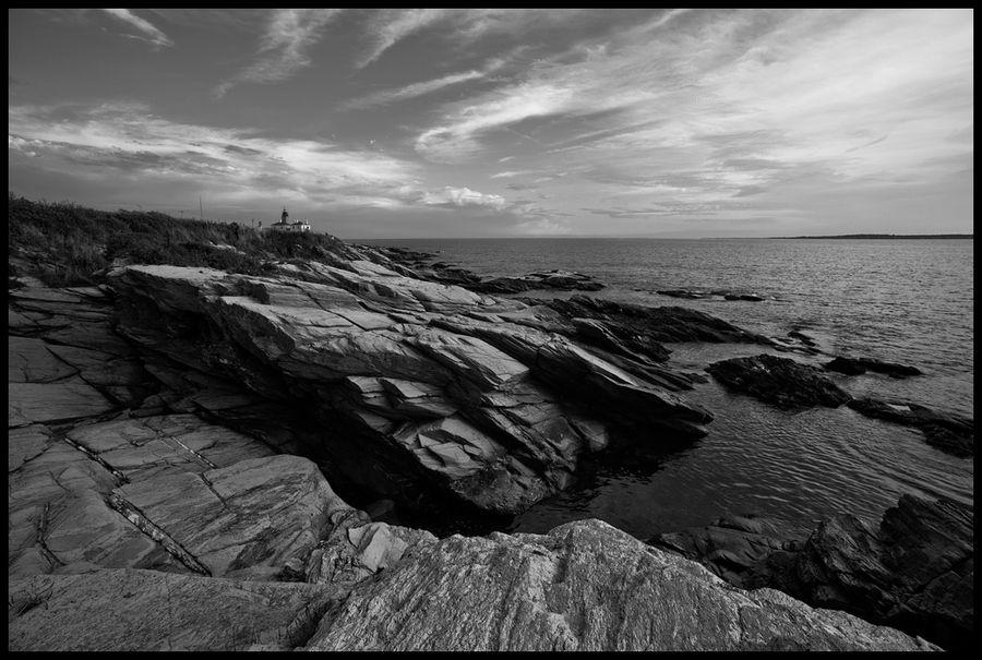 Beavertail Lighthouse by Ben Totman, via 500px