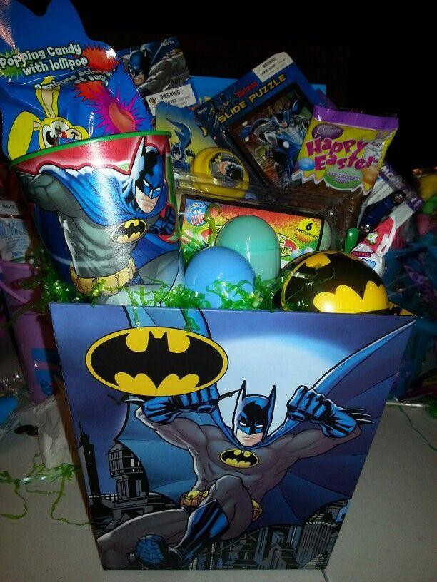 Batman easter nasket festive baby pinterest easter and easter batman easter nasket negle Gallery