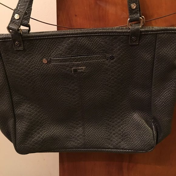 Townsfair reversible tote purse in charcoal grey Townsfair reversible tote purse in charcoal grey Thirty one  Bags Totes