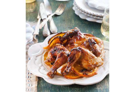 Citrus Cornish Hens