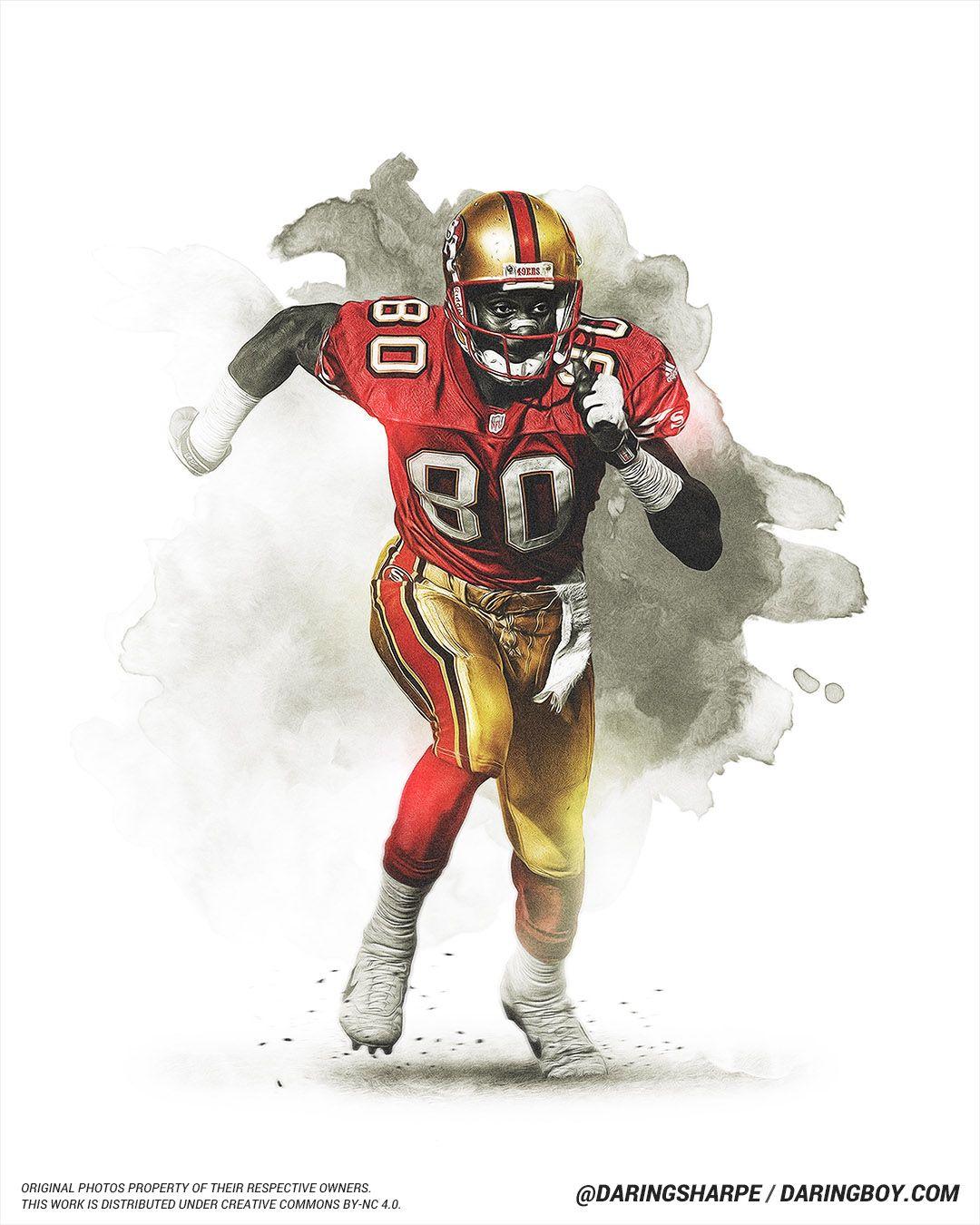 Jerry Rice, San Francisco 49ers San francisco 49ers, San
