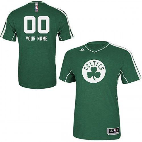 wholesale dealer 55ce0 5acb4 celtics adidas Celtics Personalized On Court S/S Team ...